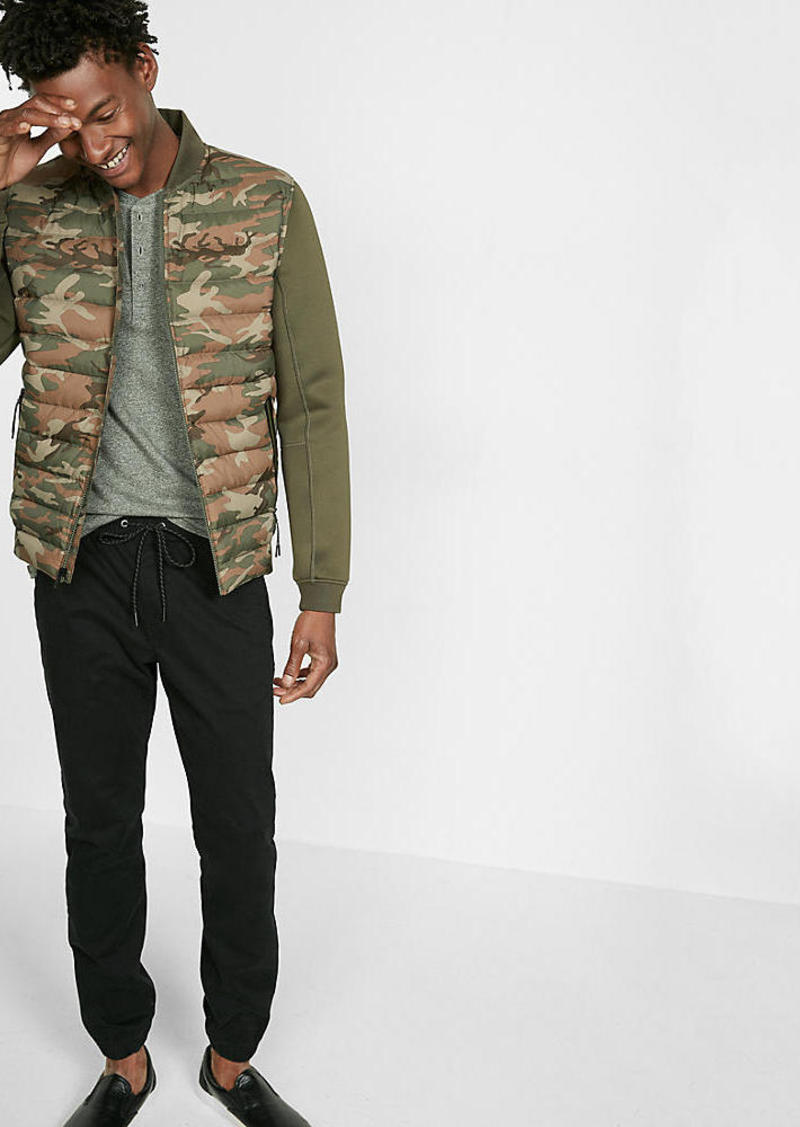 Express Camouflage Insulated Neoprene Coat