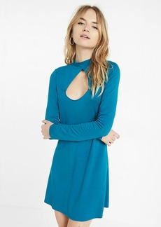 Cut Out Trapeze Dress