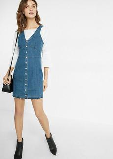 Denim Corset Button Dress