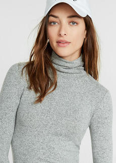 Express One Eleven Brushed Turtleneck