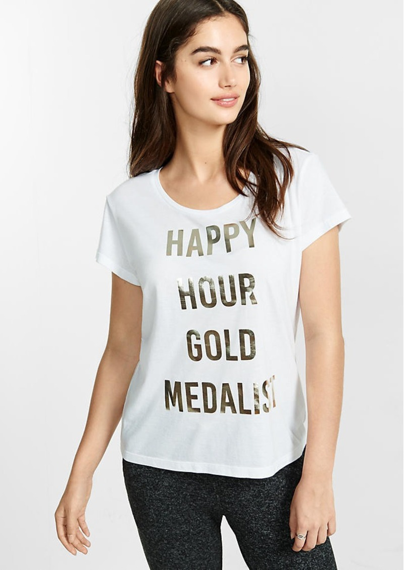 Express One Eleven Happy Hour Medalist Tee