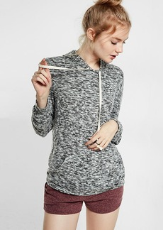 Express One Eleven Marled Brushed Hoodie