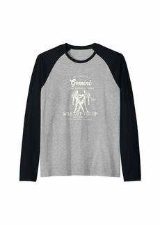 Express Gemini Characteristics Raglan Baseball Tee