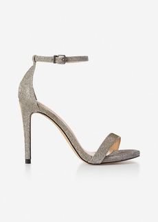 Express Glitter Simple Heeled Sandal