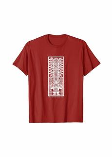 Express Incan Peruvian stela Raimondi Chavin Sculptural t-shirt