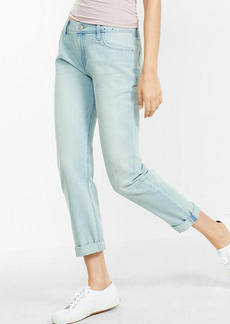 Express Light Wash Boyfriend Jeans