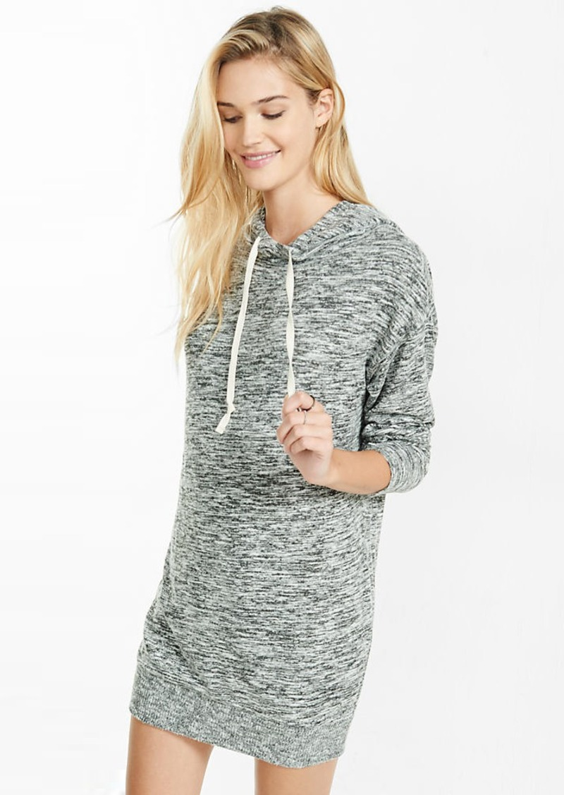 Express Marled Hooded Sweatshirt Dress | Dresses - Shop It To Me