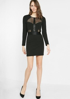 Mesh Corset Mini Dress