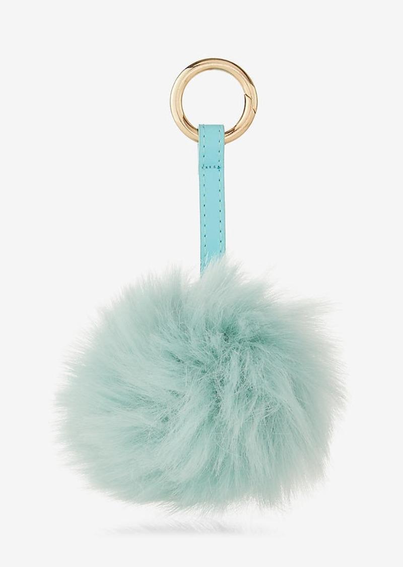 Express Ok Originals Mint Pom Keychain And Bag Charm