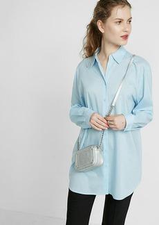 Express Oversize Button Up Shirt