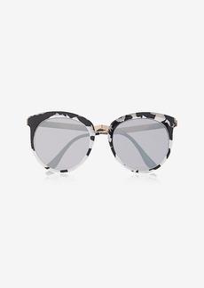 Express Pearlized Tortoiseshell Cat Eye Sunglasses