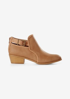 Express Perforated Ankle Bootie