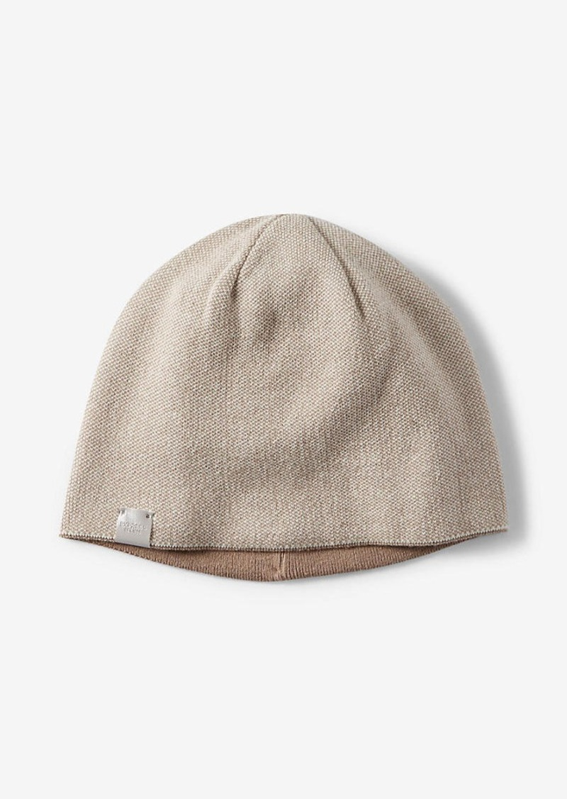 Express Reversible Textured Knit Beanie