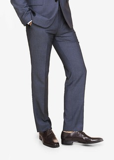 Express Slim Photographer Micro Twill Navy Suit Pant
