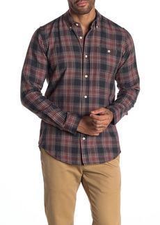 Ezekiel Antelope Plaid Long Sleeve Woven Regular Fit Shirt