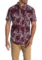 Ezekiel Baja Short Sleeve Woven Print Regular Fit Shirt