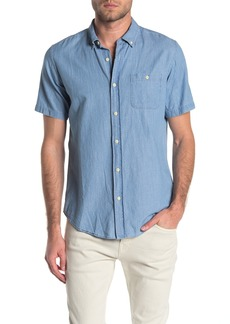 Ezekiel Bear Flag Short Sleeve Regular Fit Woven Shirt
