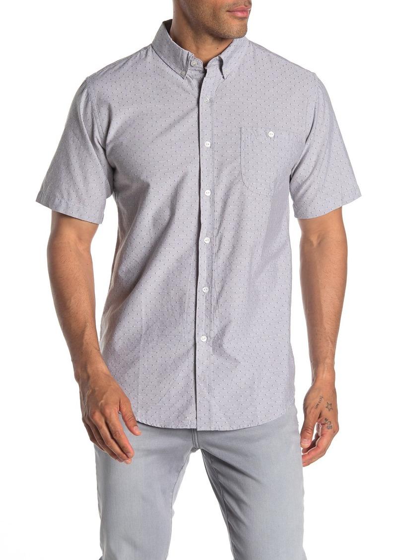 Ezekiel Brad Dobby Print Regular Fit Shirt