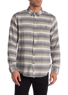 Ezekiel Breeze Striped Woven Long Sleeve Shirt