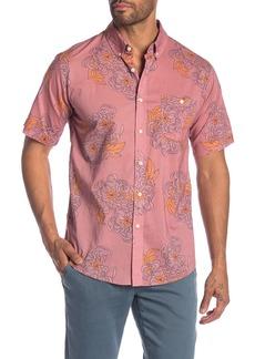 Ezekiel Choked Up Floral Short Sleeve Regular Fit Shirt