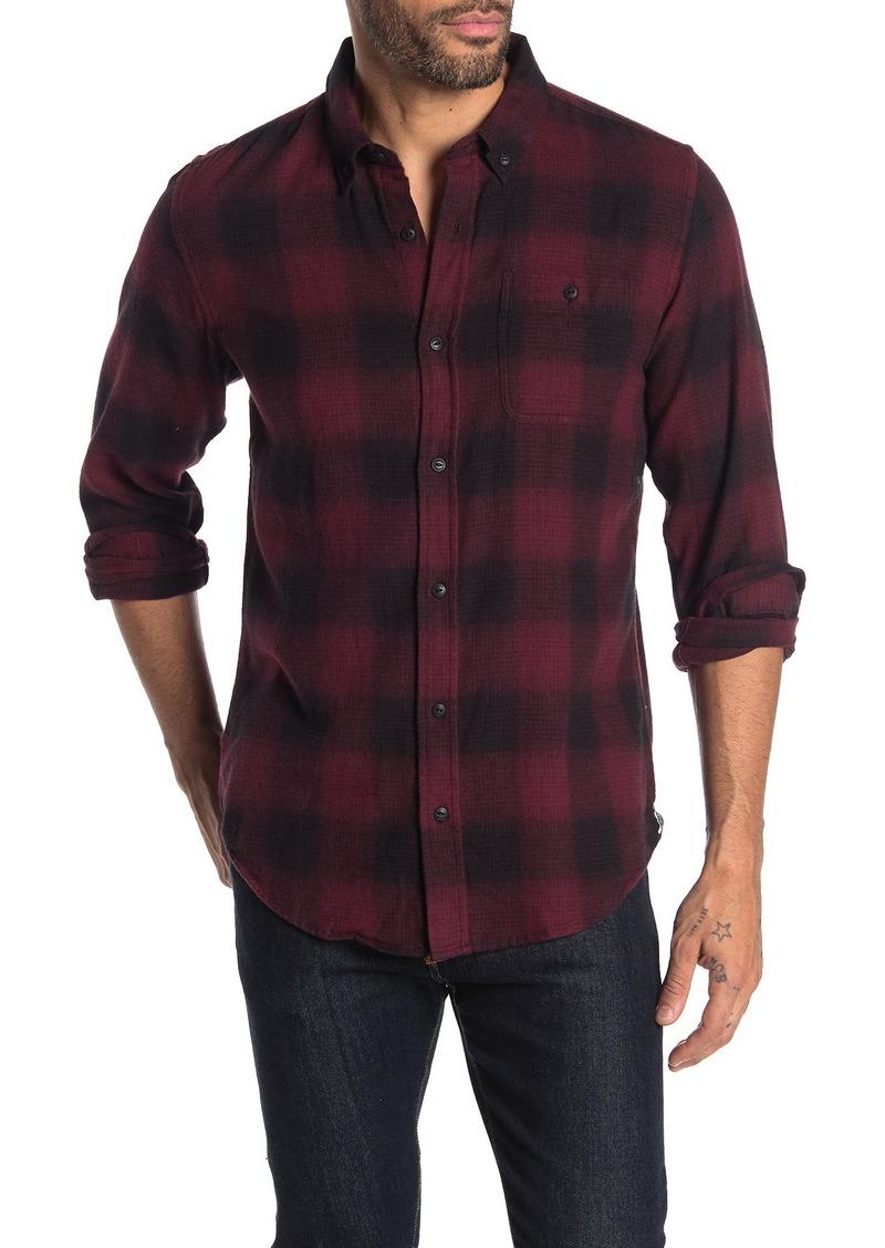 Ezekiel Compton Woven Plaid Regular Fit Shirt