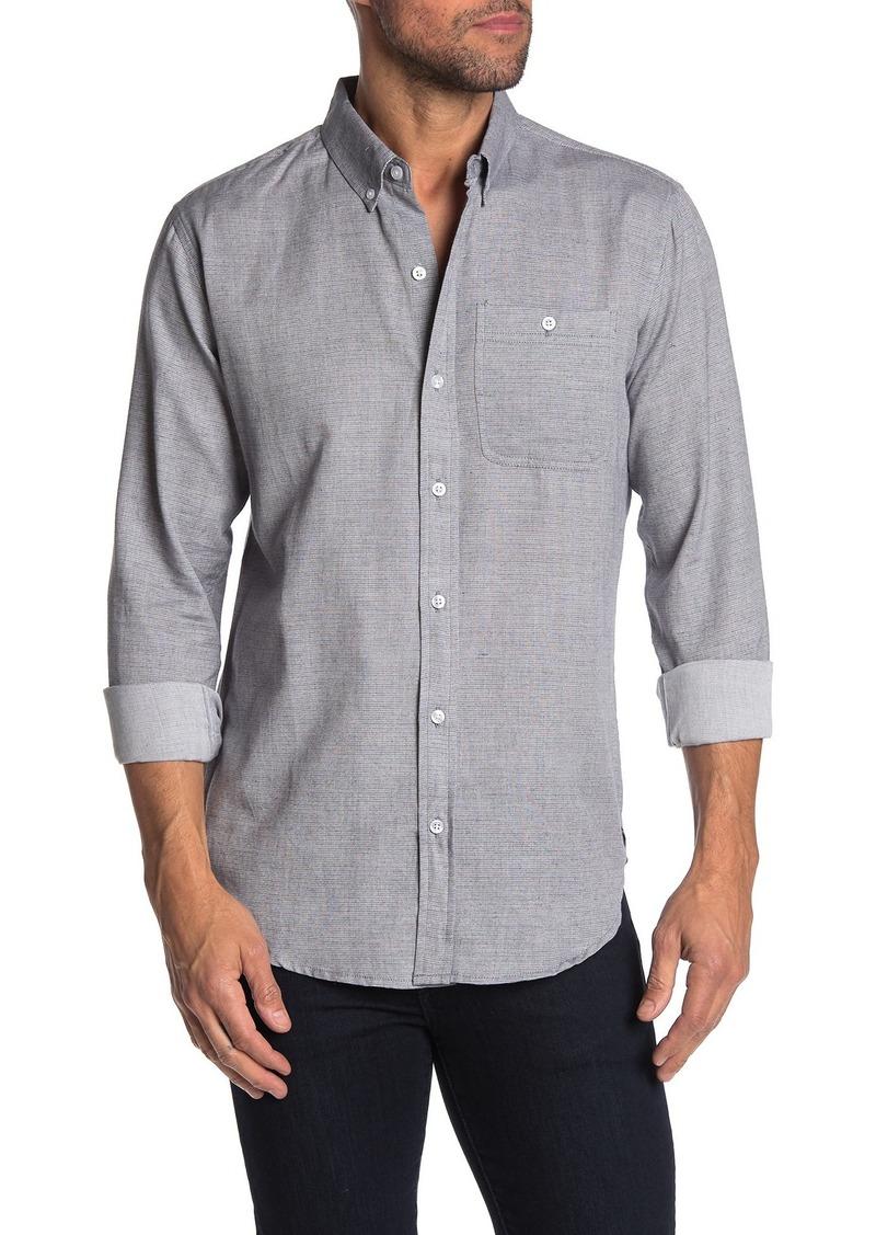 Ezekiel Coyote Striped Long Sleeve Shirt