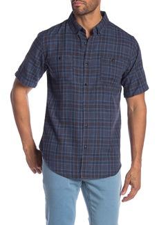 Ezekiel Edgewater Plaid Short Sleeve Regular Fit Shirt