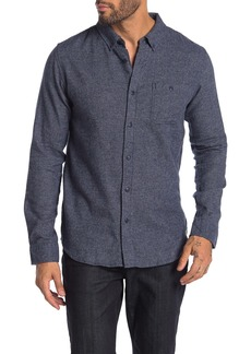 Ezekiel Everett Woven Texture Solid Regular Fit Shirt