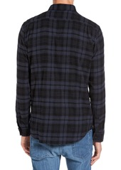 Ezekiel Dallas Trim Fit Plaid Woven Shirt