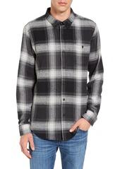 Ezekiel Jakey Trim Fit Plaid Woven Shirt
