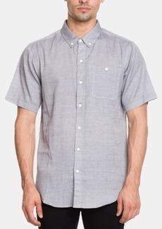 Ezekiel Men's Coyote Regular-Fit Herringbone Stripe Shirt