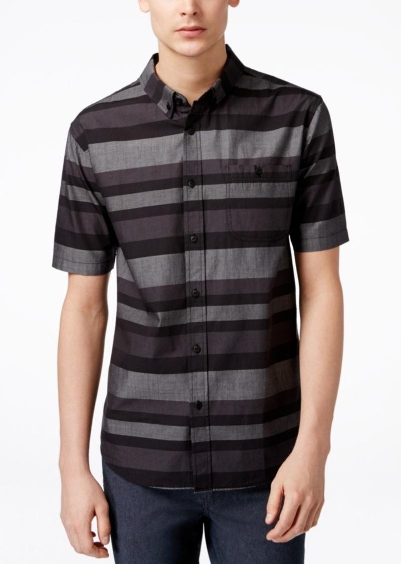 Ezekiel Men's Freebyrd Striped Short-Sleeve Button Shirt