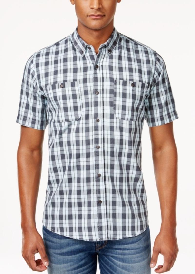 Ezekiel Men's Macklemore Plaid Short-Sleeve Shirt