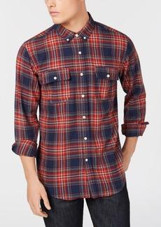 Ezekiel Men's Maverick Yarn-Dyed Plaid Utility Shirt