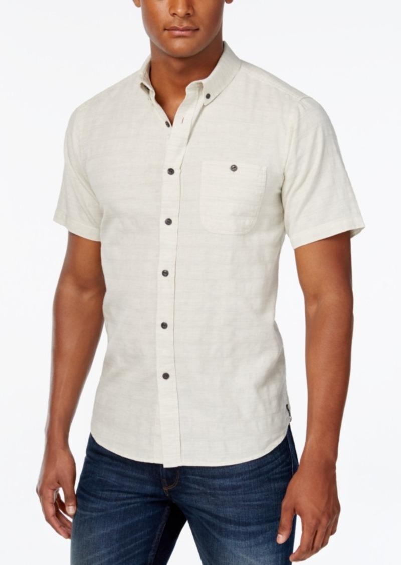 Ezekiel Men's One Way Tile Stripe Short-Sleeve Shirt