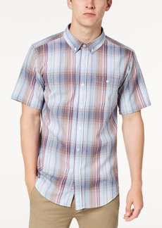Ezekiel Men's Rogers Plaid Woven Shirt