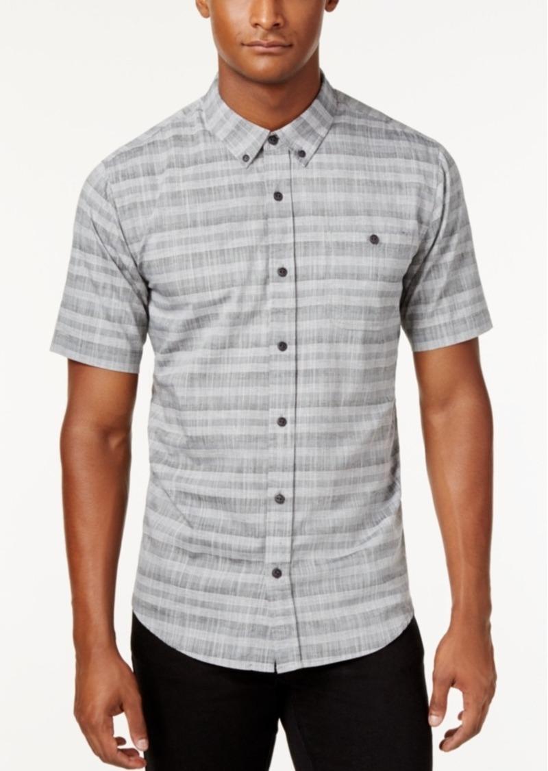 Ezekiel Men's Short-Sleeve Brooks Stripe Shirt