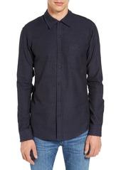 Ezekiel Shore Trim Fit Solid Woven Shirt