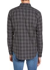 Ezekiel Westmont Trim Fit Plaid Woven Shirt