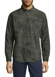 Ezekiel Woven Button-Down Shirt