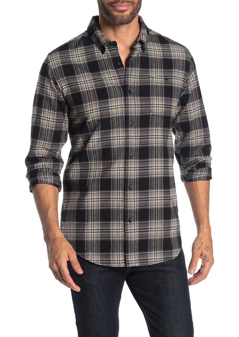 Ezekiel Fresno Plaid Print Regular Fit Woven Shirt
