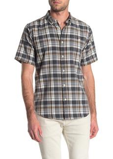 Ezekiel Hartman Short Sleeve Plaid Print Regular Fit Woven Shirt