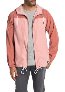 Ezekiel Hudson Colorblock Zip Hooded Jacket