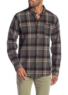 Ezekiel Jett Plaid Long Sleeve Regular Fit Shirt