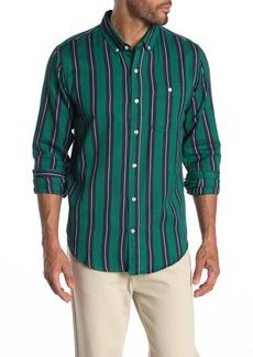 Ezekiel Jonestown Stripe Print Woven Shirt