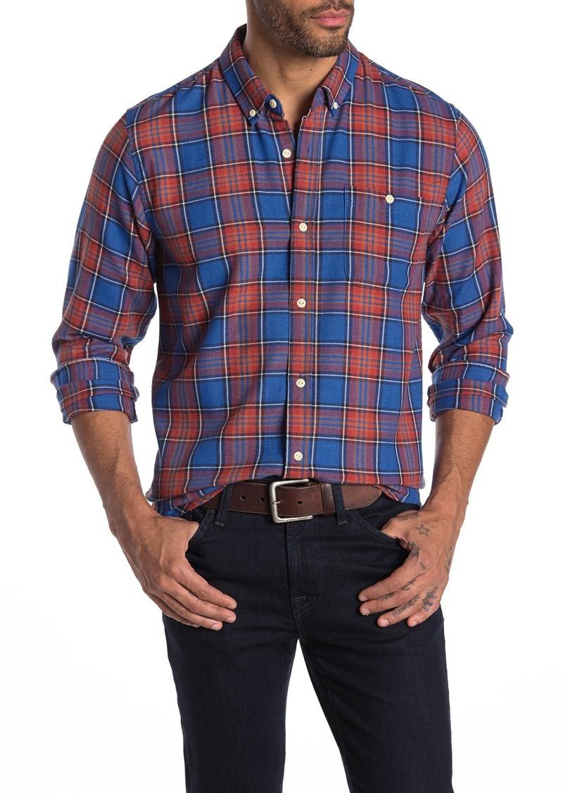 Ezekiel Kiedis Button Front Plaid Woven Shirt
