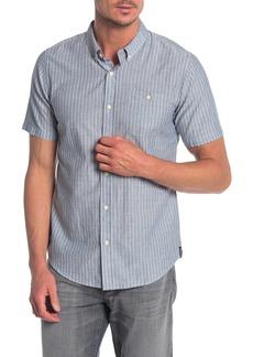 Ezekiel Lawndale Short Sleeve Stripe Print Regular Fit Shirt