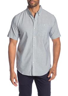 Ezekiel Lawndale Stripe Short Sleeve Regular Fit Shirt