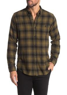 Ezekiel Lowrider Long Sleeve Woven Plaid Shirt