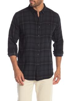 Ezekiel Malone Overdye Long Sleeve Plaid Shirt